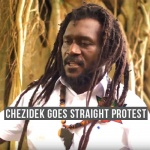 Chezidek goes straight protest