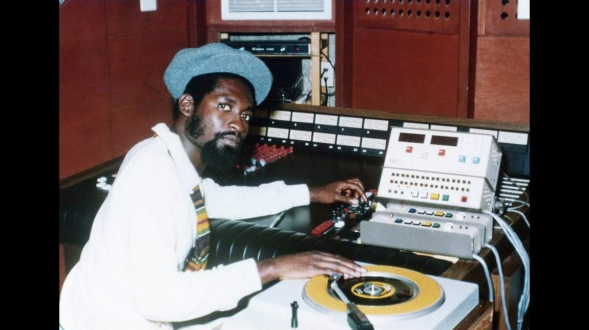 Mikey Dread - The Original Dread at the Controls (Photographer unknown)