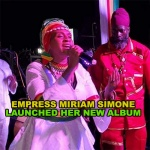 Empress Miriam Simone launched her new album