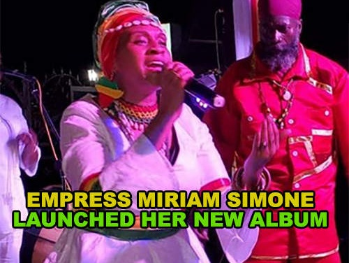Empress Miriam Simone launched her new album