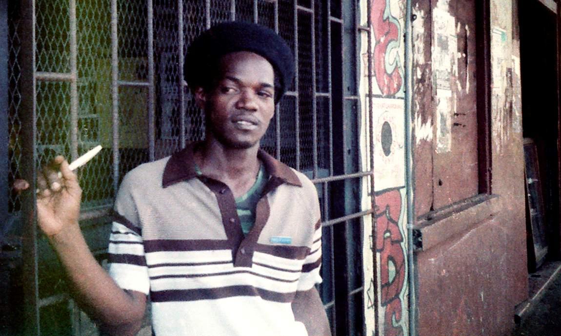 Norris Reid at Orange Street, Kingston 1982 (Photo: Beth Lesser)