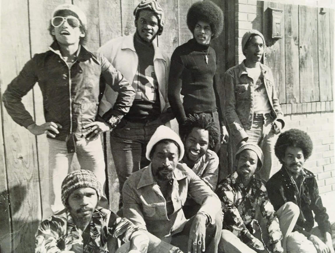 Soul Syndicate on Tour in the 1970s (Photographer unknown)