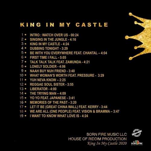 Backsleeve Anthony B - King In My Castle