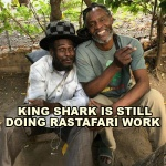 King Shark Is Still Doing Rastafari Work