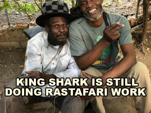 King Shark Is Still Doing Rastafari Work