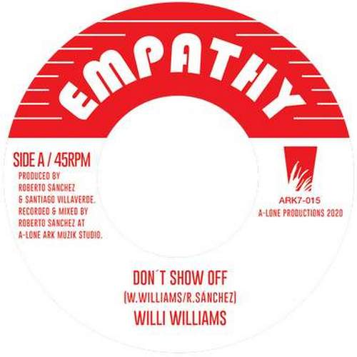Wiili Williams - Don't Show Off