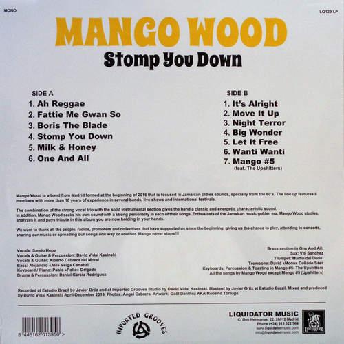 Backsleeve Mango Wood - Stomp You Down