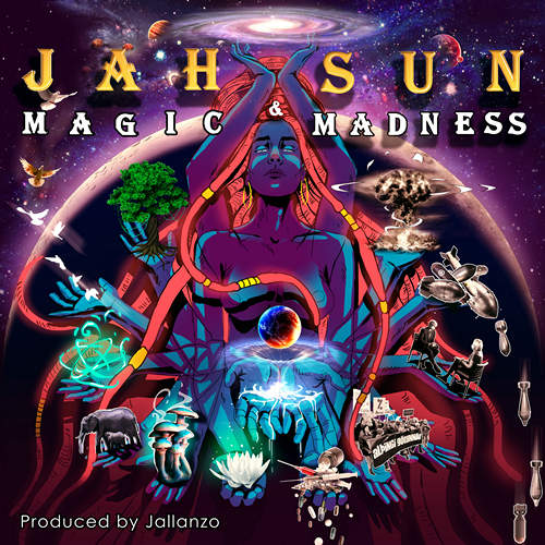 Jah Sun - Magic & Madness