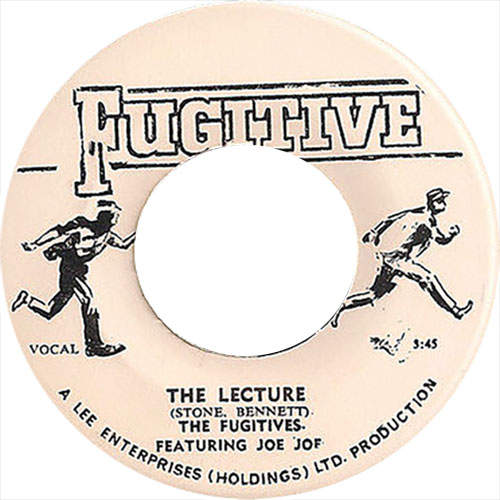 The Fugitives - The Lecture