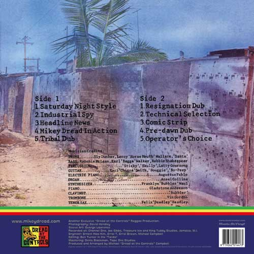 Mikey Dread - African Anthem Dubwise (The Mikey Dread Show)