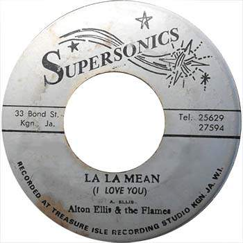 Alton Ellis & The Flames - La La Means I Love You