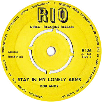 Bob Andy - Stay In My Lonely Arms
