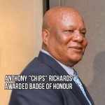 "Anthony ""Chips"" Richards awarded Badge of Honour"