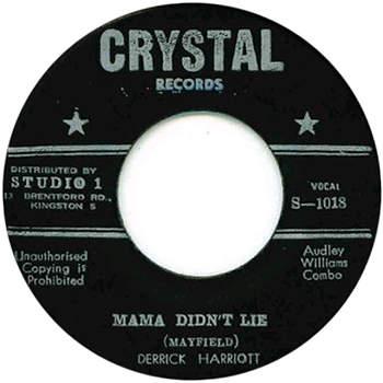 Derrick Harriott - Mama Didn't Lie