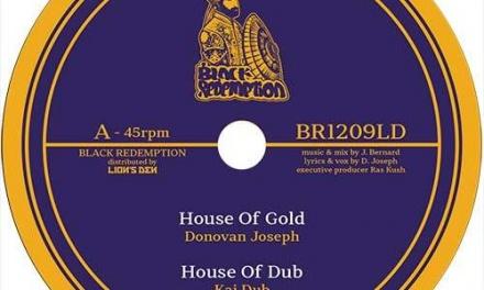 Donovan Joseph – House Of Gold