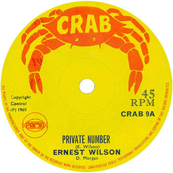 Ernest Wilson - Private Number