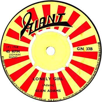 Glen Adams - Lonely Girl