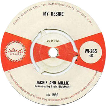 Jackie Edwards & Millie - My Desire