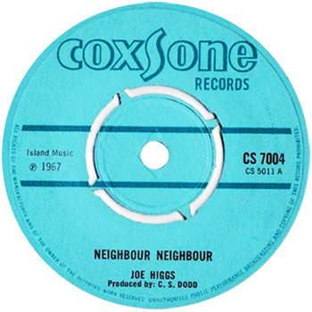 Joe Higgs - Neighbour Neighbour