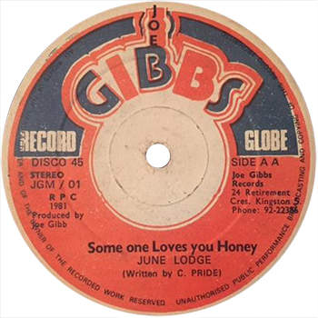 June Lodge - Someone Loves You Honey