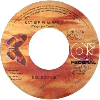 Ken Boothe - Nature Planned It
