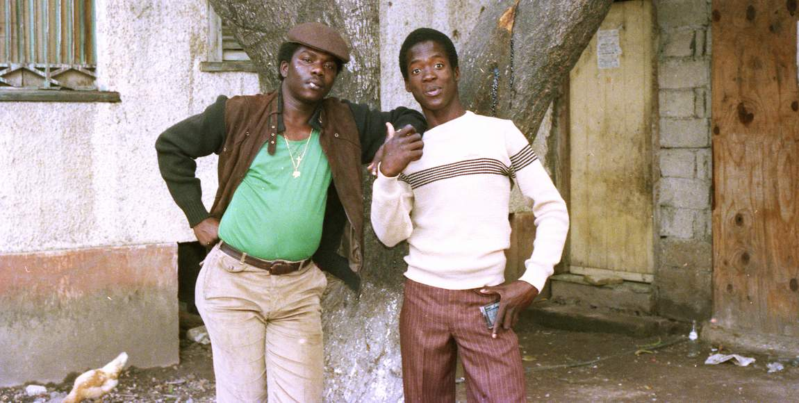 Pad Antony & Tenor Saw - 1985 (Photo: Beth Lesser)