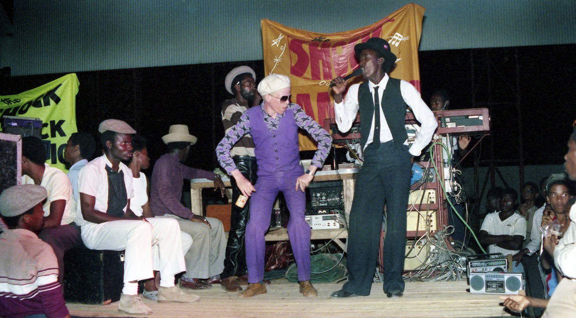 Purpleman & Tullo (Shock of the Century 1985)