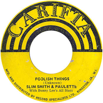 Slim & Paulette - Foolish Things