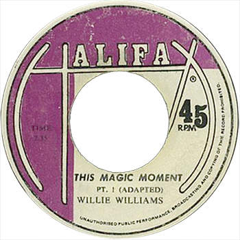 Willie Williams - This Magic Moment