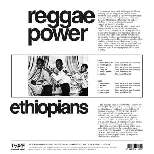 The Ethiopians - Reggae Power