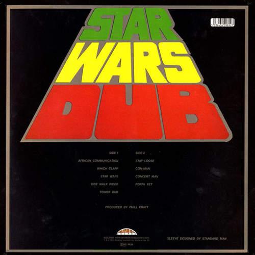 Backsleeve Phil Pratt - Star Wars Dub