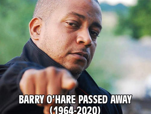 Barry O'Hare passed away (1964-2020)