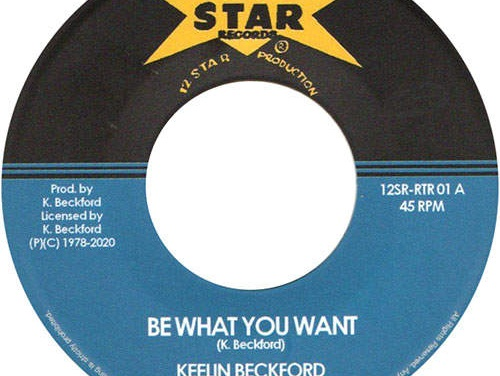 Keeling Beckford – Be What You Want