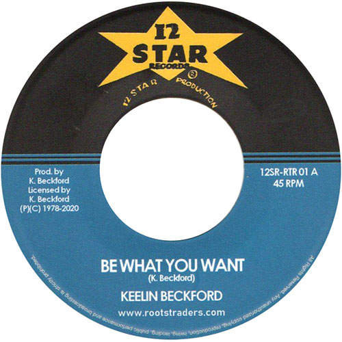 Keeling Beckford - Be What You Want