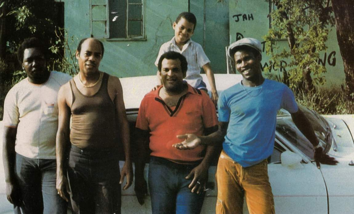 Bunny Lee & King Tubby with the Waterhouse Posse (Photographer unknown)