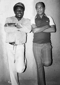 I Roy & King Tubby - 1978 (Photo: Syphilia Morgenstierne)
