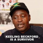 Keeling Beckford is a survivor