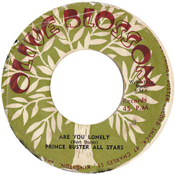 Prince Buster - Are You Lonely