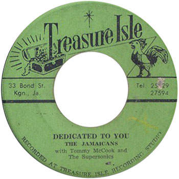 The Jamaicans - Dedicated To You