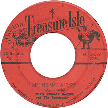 Vic Taylor - My Heartaches