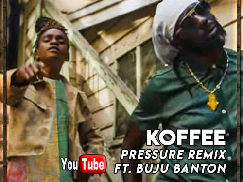 Koffee feat. Buju Banton – Pressure Remix | New Video
