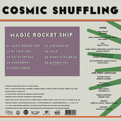Backsleeve Cosmic Shuffling - Magic Rocket Ship