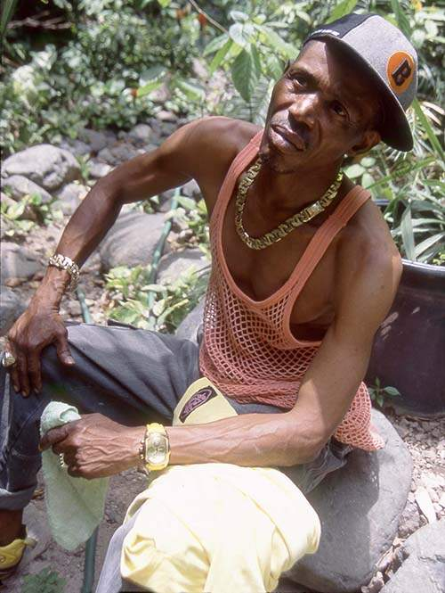 Errol Dunkley in Kingston Jamaica June 2005