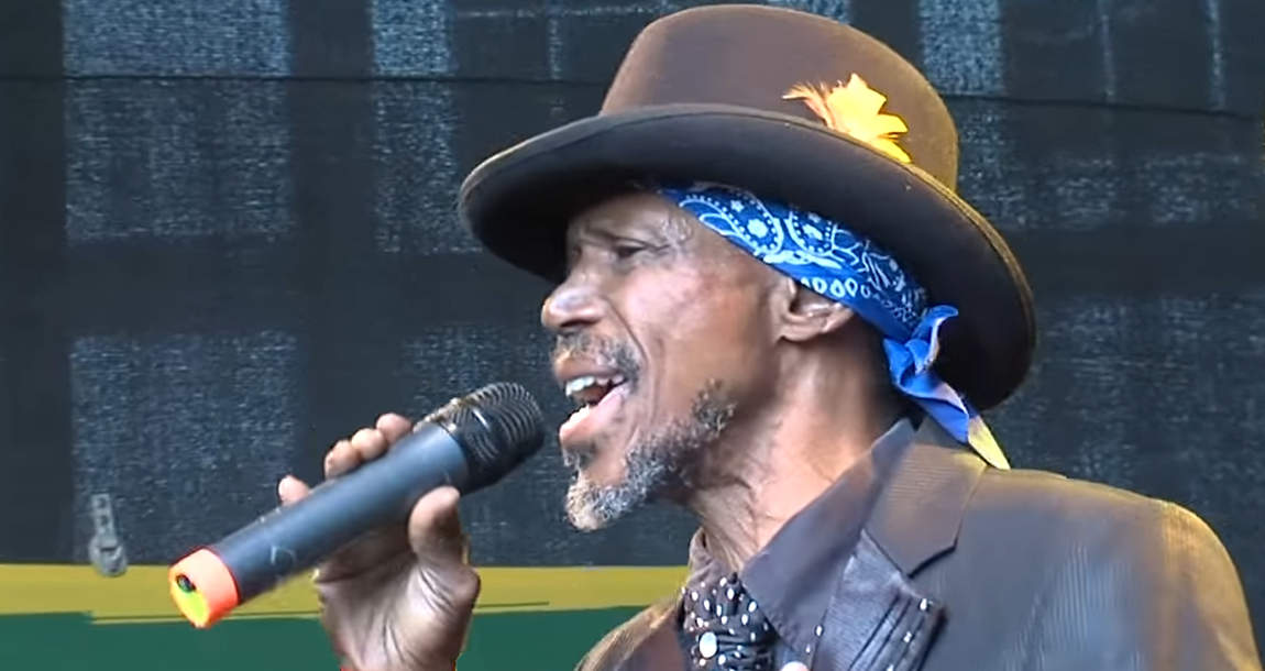 Errol Dunkley at Reggae Jam 2014