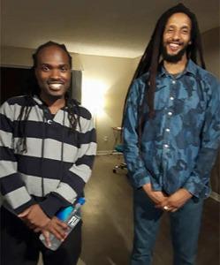 Aston Barrett, Jr. & Julian Marley