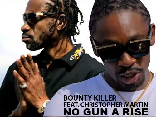 Bounty Killer feat. Christopher Martin – No Gun A Rise   New Video