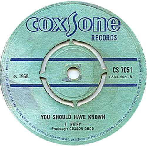 Joe Riley - You Should Have Known