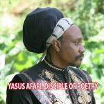 Yasus Afari, disciple of poetry