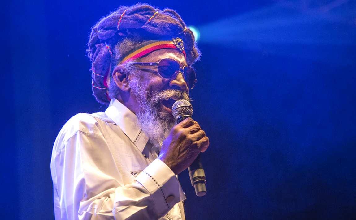 Bunny Wailer at Reggae Geel 2014 (Photo: Teacher)