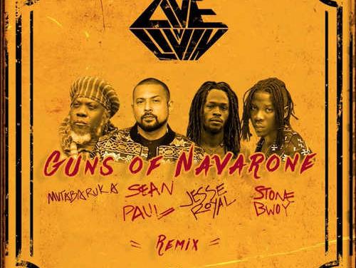 Sean Paul x Jesse Royal x Stonebwoy x Mutabaruka – Guns Of Navarone | New Video